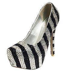 Marc Defang New York Women's Black and Clear Stripes High Heels (9 M US) Marc Defang New York http://www.amazon.com/dp/B00S976410/ref=cm_sw_r_pi_dp_pNWNwb07DE13B
