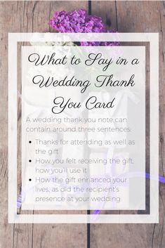 Your wedding left you feeling like a million bucks, but nothing can bring you back to reality more than having writer's block when writing your wedding thank you cards. Bust through the writer's block with these handy tips outlining what to say in a wedding thank you card. | from PaperDirect.com
