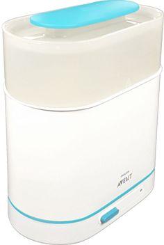 Der Babyflaschen Sterilisator von Philips Avent ist in 3 Größen größenverstellbar. Er tötet 99,9% aller schädlichen Keime durch rein natürlichen Wasserdampf. Im Test erhälst du jede Menge Tipps, Tricks und Fotos ... Tricks, Washing Machine, Home Appliances, Pictures, Heating Element, Pacifiers, Newborns, Cleaning, House Appliances