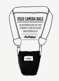 PicPokket DSLR camera bag / case / pocket