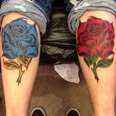 Photo by @rafa37g. Photo Title - Some #rose action done #ontheroad in #color a little #oldschool ish in #Årdal #norge #norway #rafa  #rafa_tattoos #tattoo #tattoopic #tatovering #tattooisart #tattooartist #ink #inkmag #instaink #instapic #inkedshop #inkaddicts #bodyart #hellspawn #hellspawntattoo #hellspawncustomtattoo #fusion_ink