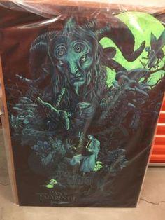 #art Pan's Labyrinth Rare Black Light Poster Art Poster please retweet