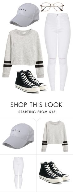 """Newchic"" by mylifemystyle42 on Polyvore featuring Converse"