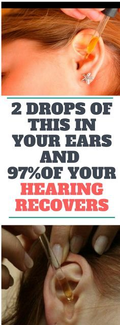 2 DROPS OF THIS IN YOUR EARS AND 97% OF YOUR HEARING RECOVERS! EVEN OLD PEOPLE FROM 80 TO 90 ARE DRIVEN CRAZY BY THIS SIMPLE AND NATURAL REMEDY.! Need to know..!!