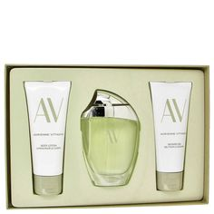 Av Gift Set - 3 oz Eau De Parfum Spray + 3.3 Body Lotion + 3.3 oz Shower Gel