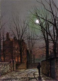 Moonlight Artist: John Atkinson Grimshaw