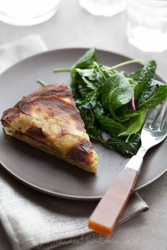 Asian Yam or Sweet Potato Galette from Gourmande in the Kitchen Rosemary Yam or Sweet Potato Galette