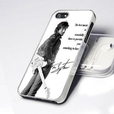 New Quotes Bruce Springsteen design for iPhone 4 or 4s case