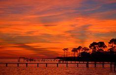 Fiery Florida Sunrise