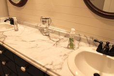 Amy's Casablanca: April 2012- boys bathroom counters!