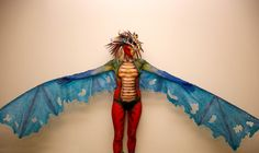 Awesome dragon costume