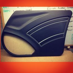 custom door panels class. I thought I'd try some of the techniques I learnt last week with a twist
