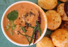 Heres a delicious tomato chutney that is usually enjoyed with idli. You can always add a seasoned tadka to enhance the taste of the chutney. Serve with homemade soft idlis for breakfast. Recipe by Gauravi.    --> http://ift.tt/1SZYbvZ #Vegetarian #Recipes