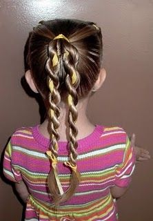 fast, easy, good P.E. day hair do.