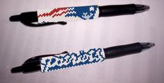 Looking for your next project? You're going to love Patriots  G2 Pilot Pen Cover  by designer Debby in Clearwater.