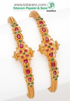 Check out the deal on 22K Gold Kada at Totaram Jewelers: Buy Indian Gold jewelry & 18K Diamond jewelry