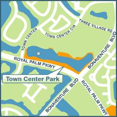 TOWN CENTER PARK, 1900 Bell Tower Lane (south end of the Weston Town Center) Hours: 8 a.m. to 9 p.m.  Hours extended during permitted Special Events Amenities: - 6 acre linear park – waterfront - Outdoor amphitheater - Lighted waterfront walkways - Restrooms open during events #LoveYourHome #WestonFL