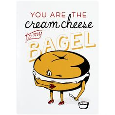 L2 Design Collective Cream Cheese and Bagel