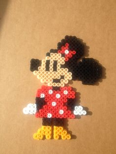 Minnie Mouse perler beads