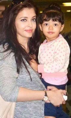 Aishwarya Rai with Her Daughter | Aishwarya Rai and her daughter Aaradhya Unseen Photos 2014