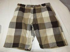 Men's Hurley walk casual shorts 33 cotton shorts surf skate multi colors EUC #Hurley #CasualShorts
