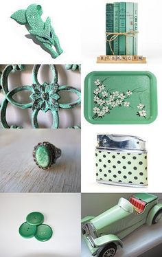 Mint Chocolate Chip --Pinned by xurple.etsy.com with TreasuryPin.com