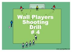 Easy Combination Soccer Shooting Drill