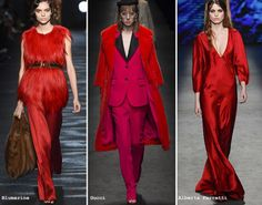 Sfilate Moda inverno 2016 2017 Colore Aurora Red - Lei Trendy