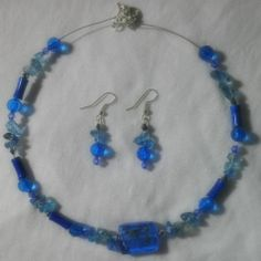 A beautiful necklace and earring set that I made