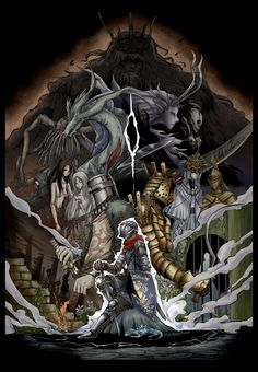 Amazing Dark Souls Fan Art