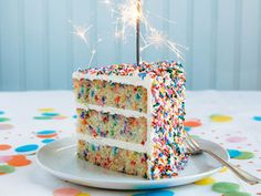 """Ultimate Birthday Cake From 'Baked Occasions'   Serious Eats: Recipes - Mobile Beta!"""""""