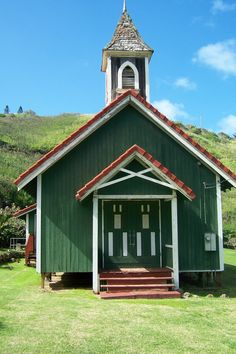 Little Church in North Maui Hawaii