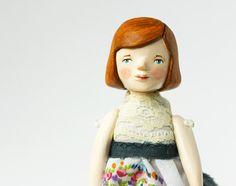 Articulated handmade art doll