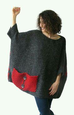 Big knit pockets inspiration