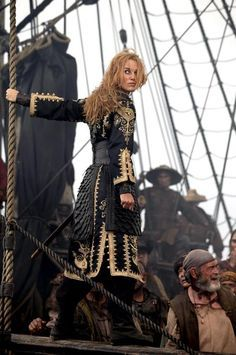*ELIZABETH SWANN (Keira Knightley) ~ PIRATES of the CARIBBEAN: At World's End, 2007