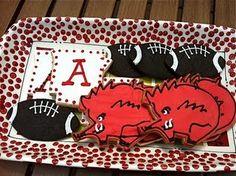 Razorback cookies