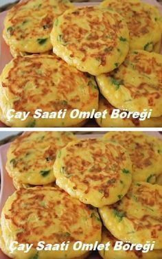 # anxious and # omlet Overnight Hashbrown Breakfast Casserole, Best Breakfast Recipes, Breakfast Items, Turkish Recipes, Easy Meals, Food And Drink, Cooking Recipes, Pasta, Yummy Food