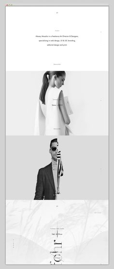 Black and white, simple, abstract, website, design, web in Website Design