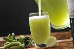 Agua de pepino con hierbabuena | Cocina y Comparte | Recetas de Cocina al Natural