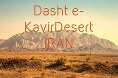 Dasht e- Kavir desert, in Iran. More at www.pangeaetc.com
