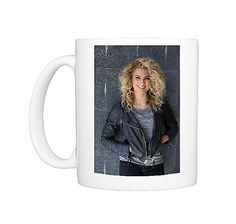 Photo Mug $40 featuring American singer Tori Kelly poses for a photograph in Sydney. Sturdy white ceramic mug with large handle for easy drinking. Dishwasher and microwave safe. Base Width 82mm, Mug Height 96mm.
