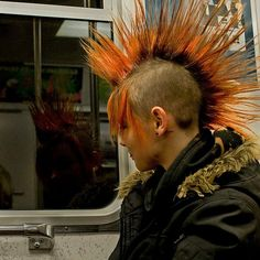 Punk Girl by Tord Mattsson, via Flickr