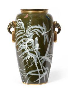 A Minton Pate-sur-Pate Vase, by Frederick A Rhead.  https://cdn.globalauctionplatform.com/f3184e54-513f-49d3-812f-a4cd00bf8198/4e294418-0fea-46b3-ac74-ef9b236f9a33/original.jpg