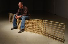 beautiful designs!  built-in wooden benches | bench designs by matthias pliessnig creative wooden benches by ...