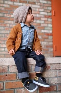 How my future son will dress.