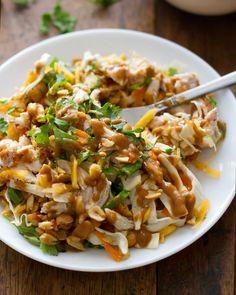 Chopped Thai Chicken Salad - Pinch of Yum