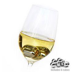 Avanti Stainless Steel Wine Pearls Ice Cubes