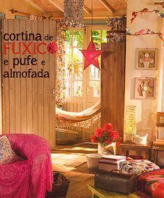 Ideias de fuxico - dcoracao.com - blog de decoração e tutorial diy