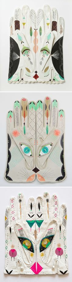 "bunnie reiss - ""cosmic animal gloves"" <3"