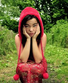 """""""I'm a fountain of blood. In the shape of a girl."""" ― Bjork"""